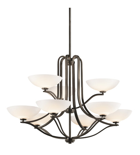 Kichler Lighting Chatham 9 Light Chandelier in Olde Bronze 42762OZ photo