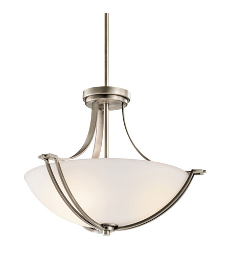 Kichler Lighting Chatham 3 Light Semi-Flush in Antique Pewter 42766AP photo
