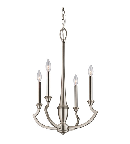 Kichler Lighting Semprini 4 Light Chandelier in Antique Pewter 42770AP
