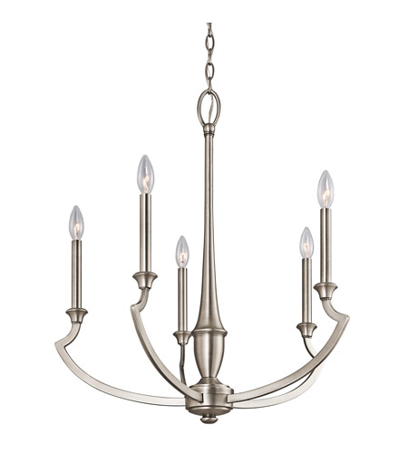 Kichler Lighting Semprini 5 Light Chandelier in Antique Pewter 42771AP photo