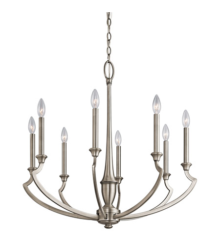 Kichler Lighting Semprini 8 Light Chandelier in Antique Pewter 42772AP
