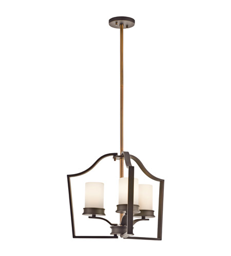 Kichler Lighting Aren 3 Light Chandelier in Olde Bronze 42776OZ photo
