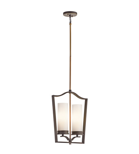 Kichler Lighting Aren 2 Light Foyer Chain Hung in Olde Bronze 42777OZ