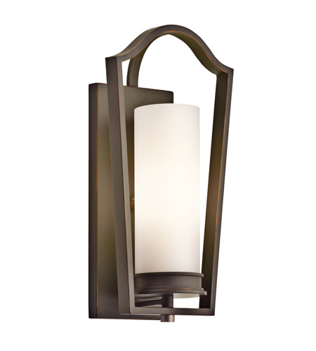 Kichler Lighting Aren 1 Light Wall Sconce in Olde Bronze 42781OZ