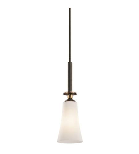 Kichler Lighting Clermont 1 Light Mini Pendant in Olde Bronze 42788OZ