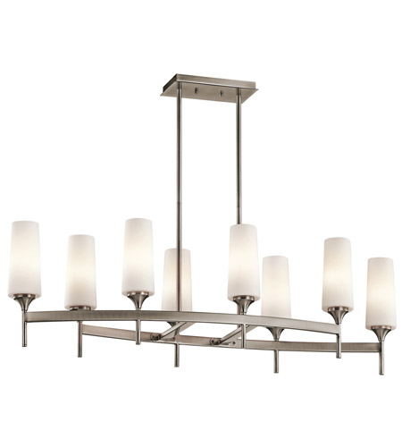 Kichler Lighting Kinsley 8 Light Chandelier in Classic Pewter 42806CLP