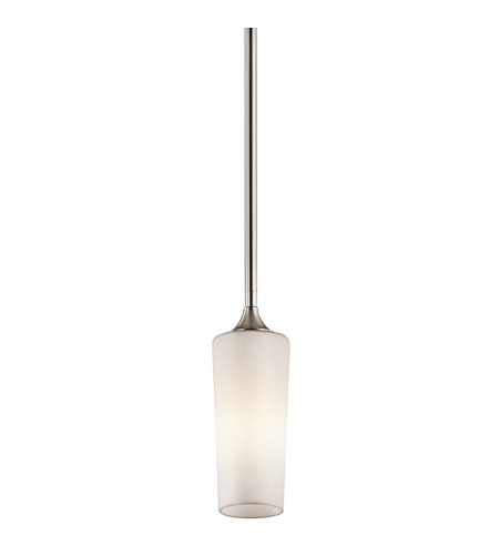 Kichler Lighting Kinsley 1 Light Mini Pendant in Classic Pewter 42808CLP