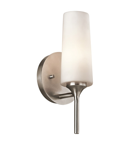 Kichler Lighting Kinsley 1 Light Wall Sconce in Classic Pewter 42810CLP