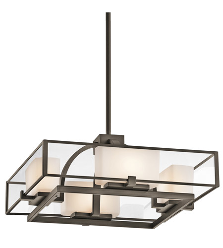 Kichler Lighting Isola 4 Light Semi-Flush in Olde Bronze 42826OZ