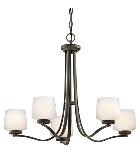 Kichler Lighting Truett 5 Light Chandelier in Olde Bronze 42830OZ photo