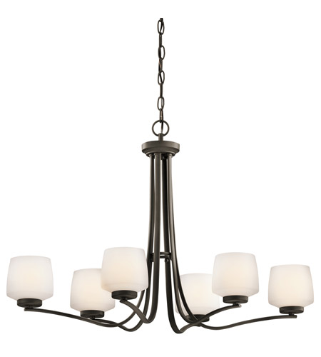 Kichler Lighting Truett 6 Light Chandelier in Olde Bronze 42831OZ photo
