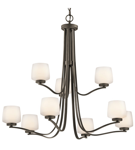 Kichler Lighting Truett 9 Light Chandelier in Olde Bronze 42832OZ photo