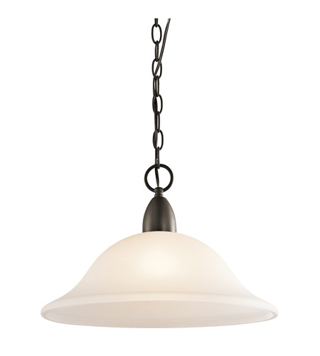 Kichler Lighting Nicholson 1 Light Pendant in Olde Bronze 42881OZ