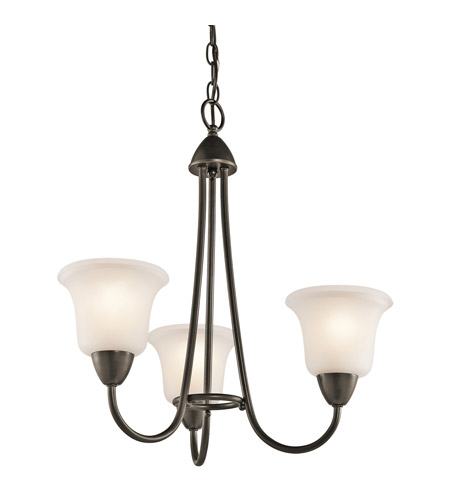 Kichler Lighting Nicholson 3 Light Chandelier in Olde Bronze 42883OZ photo