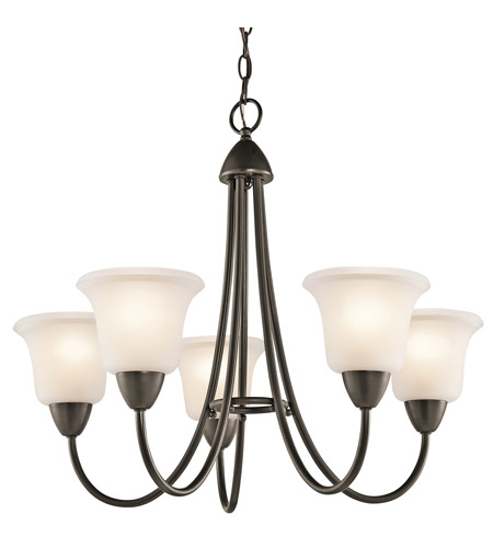 Kichler 42884OZ Nicholson 5 Light 25 inch Olde Bronze Chandelier Ceiling Light photo