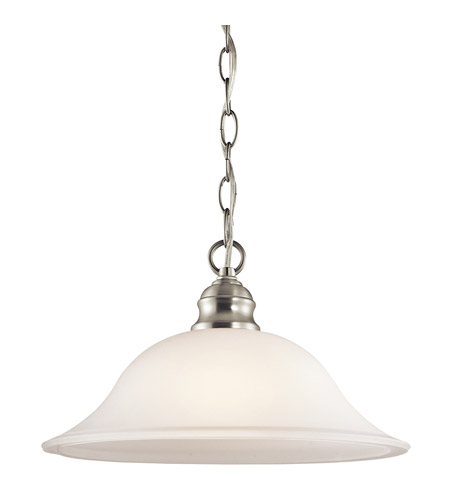 Kichler Lighting Tanglewood 1 Light Pendant in Brushed Nickel 42902NI