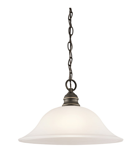 Kichler 42902OZ Tanglewood 1 Light 14 inch Olde Bronze Pendant Ceiling Light photo