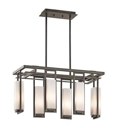 Kichler Lighting Perimeter 6 Light Chandelier in Olde Bronze 42934OZ