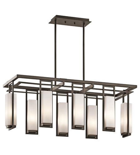 Kichler Lighting Perimeter 8 Light Chandelier in Olde Bronze 42935OZ