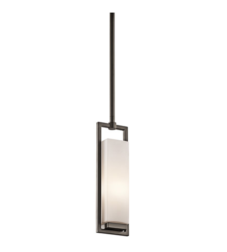 Kichler Lighting Perimeter 1 Light Mini Pendant in Olde Bronze 42937OZ