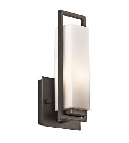Kichler Lighting Perimeter 1 Light Wall Sconce in Olde Bronze 42939OZ photo