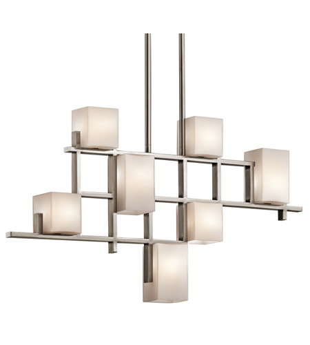 Kichler 42941CLP City Lights 7 Light 4 inch Classic Pewter Chandelier Ceiling Light photo