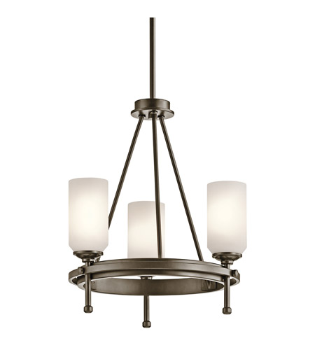 Kichler Lighting Ladero 3 Light Chandelier in Shadow Bronze 42944SWZ
