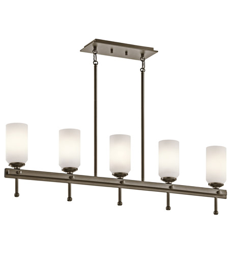 Kichler Lighting Ladero 5 Light Chandelier in Shadow Bronze 42945SWZ