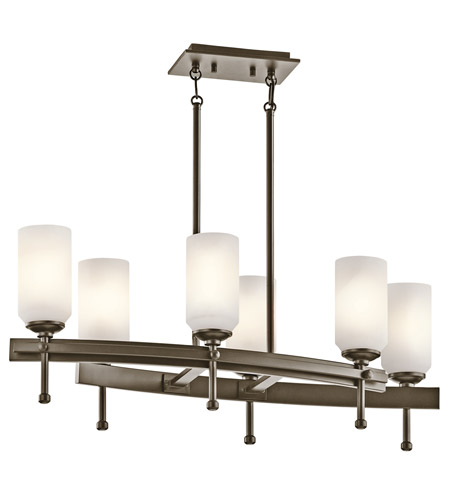 Kichler Lighting Ladero 6 Light Chandelier in Shadow Bronze 42946SWZ