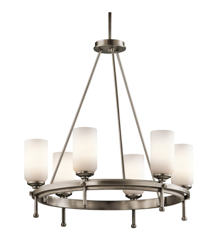 Kichler Lighting Ladero 6 Light Chandelier in Antique Pewter 42947AP photo