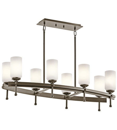 Kichler Lighting Ladero 8 Light Chandelier in Shadow Bronze 42948SWZ photo