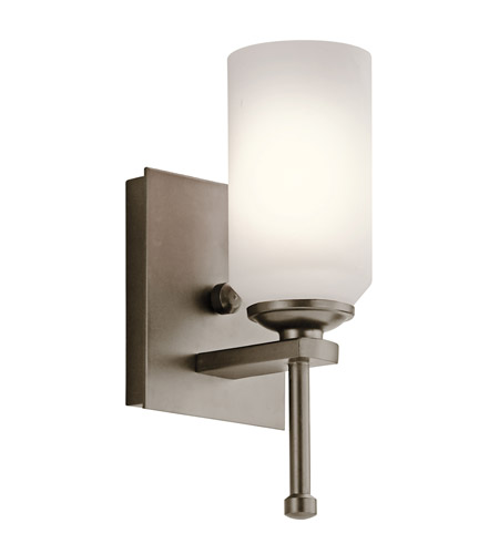 Kichler Lighting Ladero 1 Light Wall Sconce in Shadow Bronze 42950SWZ
