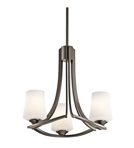 Kichler Lighting Holton 3 Light Chandelier in Olde Bronze 42971OZ photo