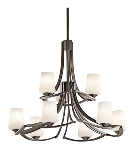 Kichler Lighting Holton 9 Light Chandelier in Olde Bronze 42973OZ photo
