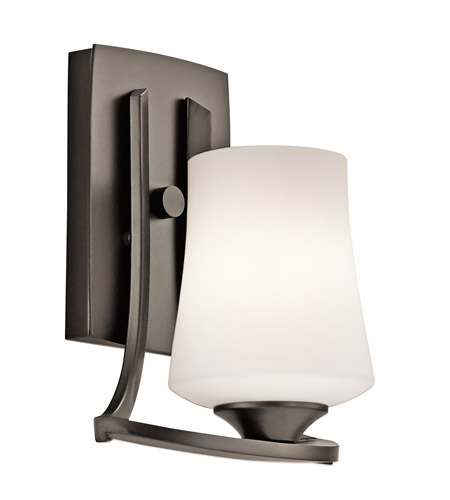 Kichler Lighting Holton 1 Light Wall Sconce in Olde Bronze 42975OZ