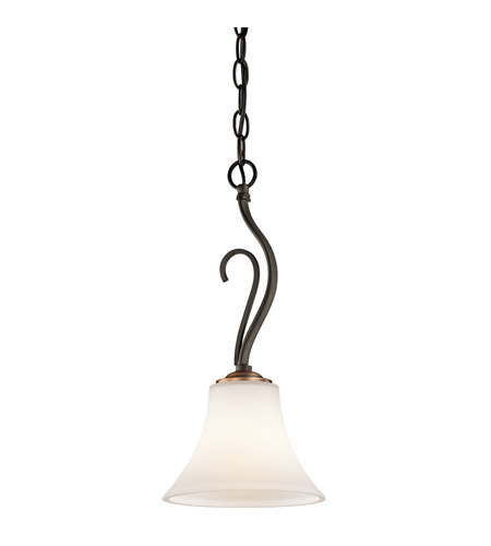 Kichler Lighting Claridge Court 1 Light Mini Pendant in Olde Bronze 42988OZ photo