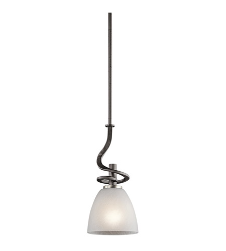 Kichler Lighting Neillo 1 Light Mini Pendant in Anvil Iron 43028AVI