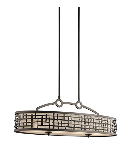 Kichler Lighting Loom 4 Light Island Pendant in Olde Bronze 43046OZ