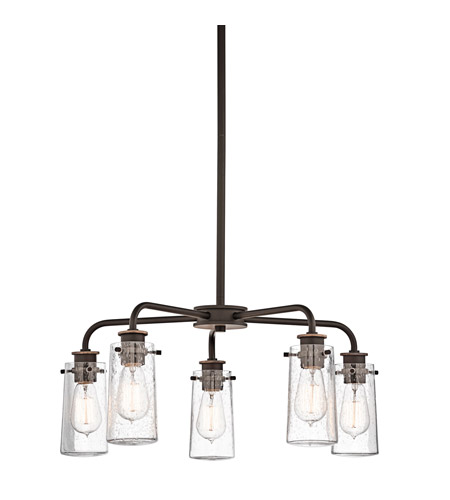 Kichler Lighting Braelyn 5 Light Chandelier in Olde Bronze 43058OZ photo