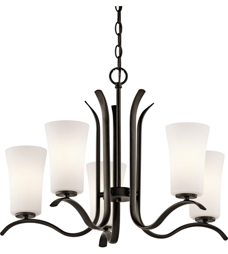 Kichler 43074OZ Armida 5 Light 25 inch Olde Bronze Chandelier Ceiling Light in Standard photo