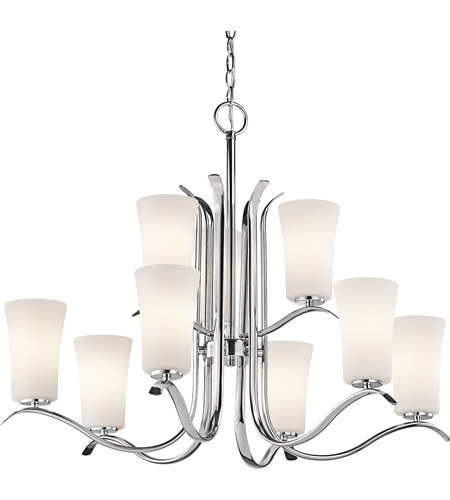 Kichler Lighting Armida 9 Light Chandelier in Chrome 43075CH photo