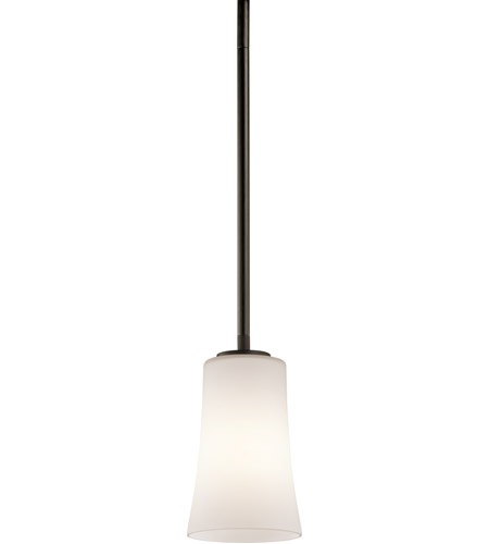 Kichler Lighting Armida 1 Light Mini Pendant in Olde Bronze 43077OZ photo