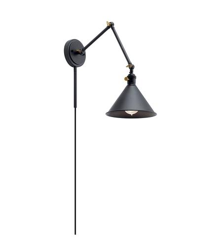 size 40 25ba2 aa534 Ellerbeck 1 Light 8 inch Black Wall Sconce Wall Light
