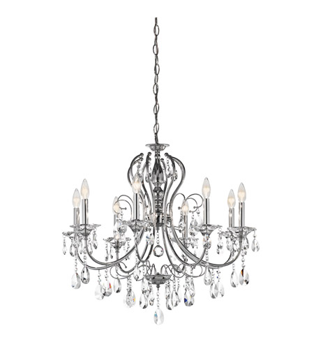Kichler Lighting Jules 8 Light Chandelier in Chrome 43122CH photo