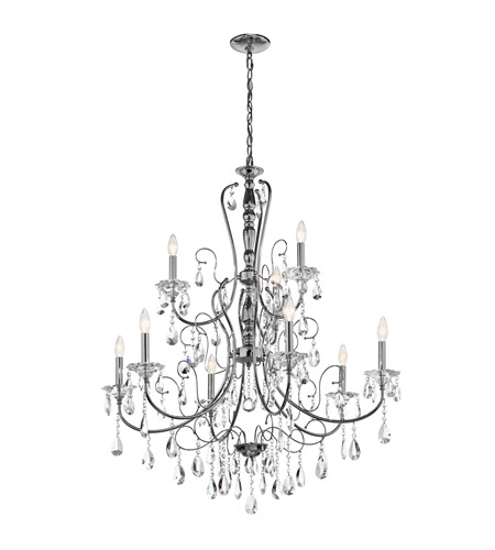 Kichler Lighting Jules 9 Light Chandelier in Chrome 43123CH photo