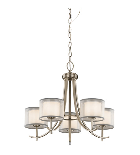 Kichler 43149ap tallie 5 light 24 inch antique pewter chandelier kichler 43149ap tallie 5 light 24 inch antique pewter chandelier ceiling light photo aloadofball Images