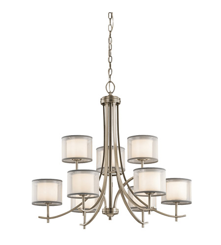 Kichler 43150AP Tallie 9 Light 32 inch Antique Pewter Chandelier Ceiling  Light photo - Kichler 43150AP Tallie 9 Light 32 Inch Antique Pewter Chandelier