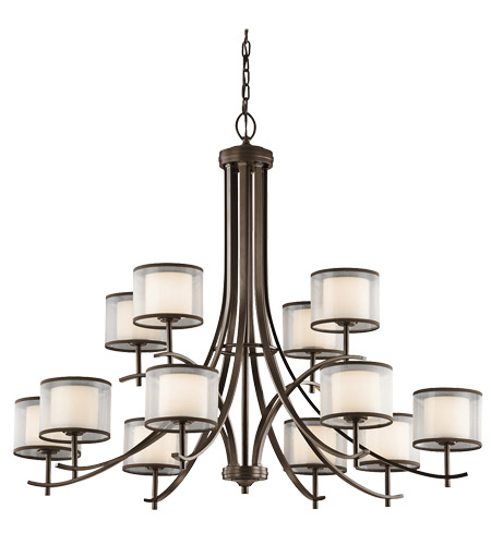 Kichler 43151miz tallie 12 light 42 inch mission bronze chandelier kichler 43151miz tallie 12 light 42 inch mission bronze chandelier ceiling light aloadofball Choice Image