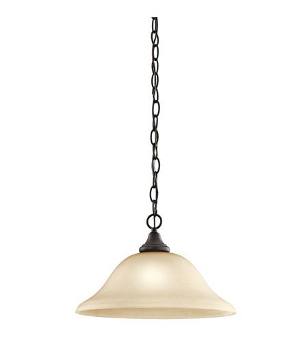 Kichler Lighting Monroe 1 Light Pendant in Olde Bronze 43172OZ