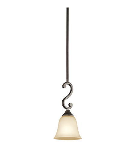 Kichler Lighting Westwood Feville 1 Light Mini Pendant in Olde Bronze 43182OZ photo